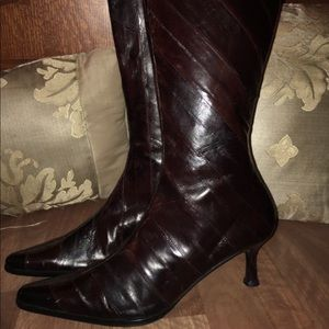 Shoes - Leather Boots Size 9 Never Used